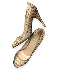 "Michael Kors ""Cairo"" in natural python"