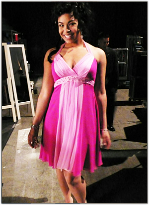 Jordin Sparks in Poppie Couture
