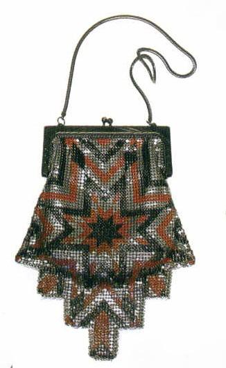 Art Deco Mesh Bag