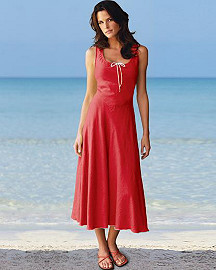 Newport News Linen Sundress