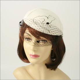Cat Evening Hat