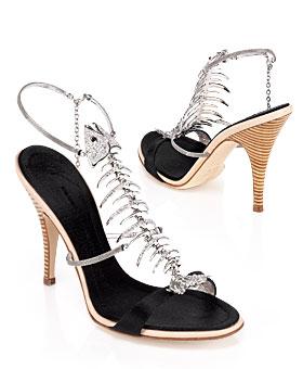 Fishy Footwear from Giuseppe Zanotti