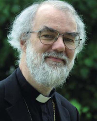 The Most Exalted Potentate of My Heart: The Archbishop of Canterbury, Dr. Rowan Williams