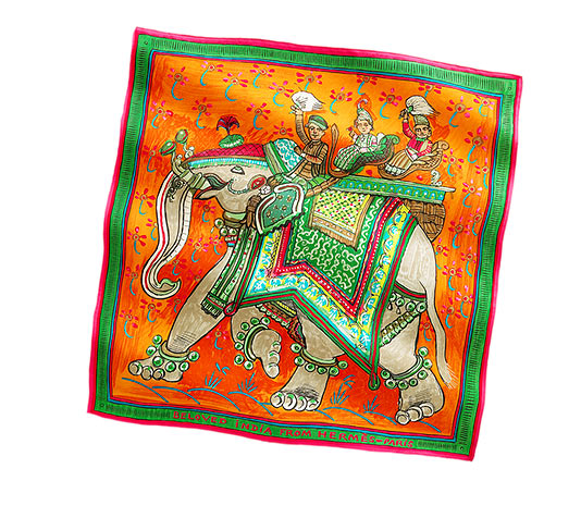 Hermès Beloved India Scarf