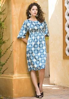 Roamans Charmeuse Dress