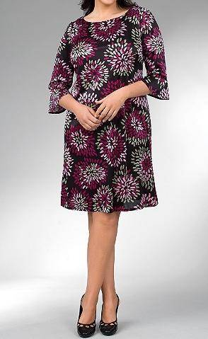 Lane Bryant Chrysanthemum Dress