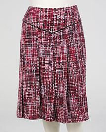 Tweed Yoke Skirt from Zaftique