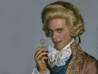 Hugh Laurie as the Prince Regent from Blackadder the Third