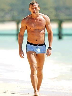 Daniel Craig as James Bond…Sean who?
