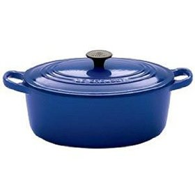 6 3/4 quart Le Creuset French Oven in Cobalt