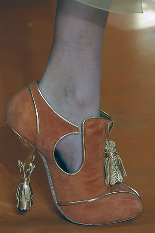 Galliano F2008 RTW shoes