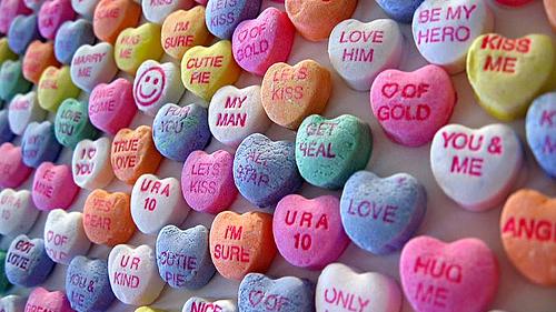 Valentine's Motto Hearts