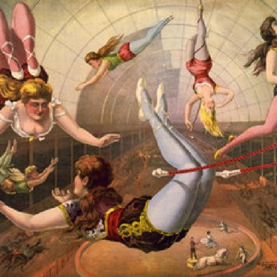 Victorian Trapeze Artists