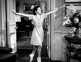 Virginia Weidler as Dinah Lord in The Philadelphia Story