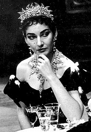 Callas in Tosca at the Met