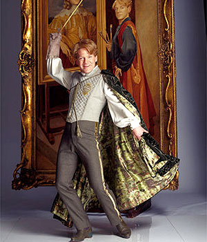 Branagh as Gilderoy Lockhart