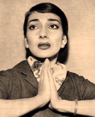 No Angel, Maria Callas in a fabulous scarf