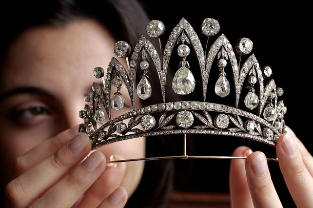 This is sadly not my tiara. 1890 Fabrege Diamond Tiara