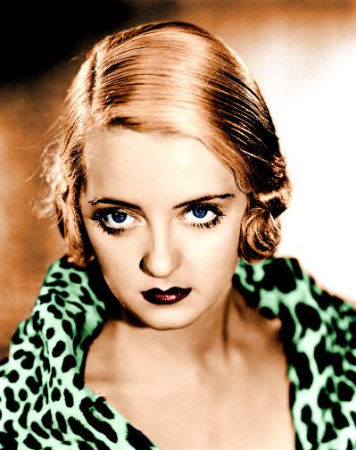 Bette Davis Leopard