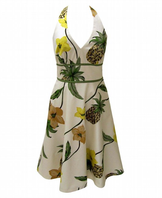 Donna Ricco pineapple dress