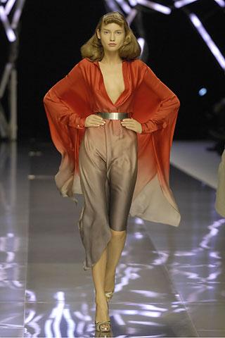 McQueen s2008 shorter kimono