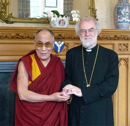 The Dalai Lama and Rowan Williams, The Archbishop of my Pants