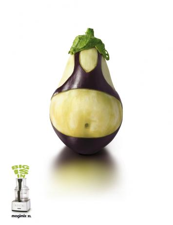 the well-dressed eggplant