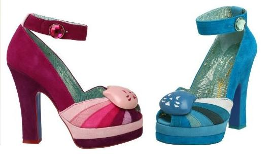 Irregular Choice Kitty Platform Pumps