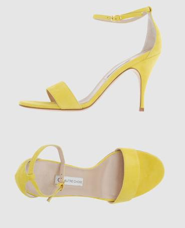 Lemon Yellow Heels Boots And Heels 2017