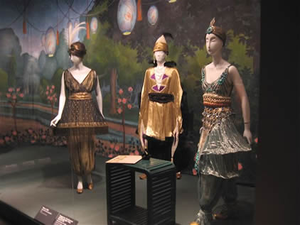 Met Display of Poiret's works