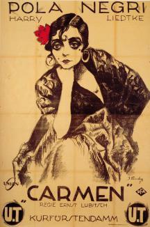 Pola Negri in Carmen