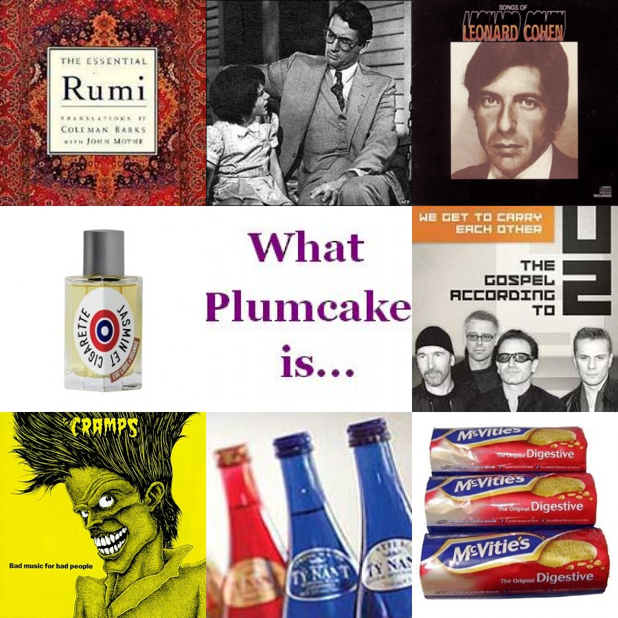 What Miss Plumcake is…for the week of Sept 15th