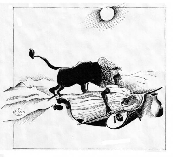 Rousseau's The Sleeping Gypsy, interpreted by Gary Peterson