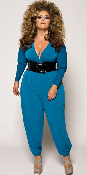 """Charlie"" jumpsuit from Monif C"
