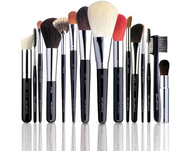 Brushes by Shu Uemura