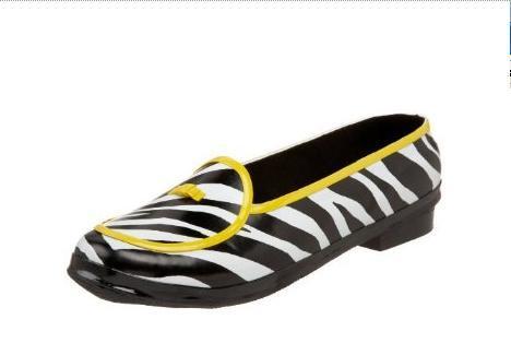 zebra rain skimmer from Barefoot Tess