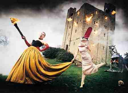 Alexander McQueen and Isabella Blow by David LaChappelle
