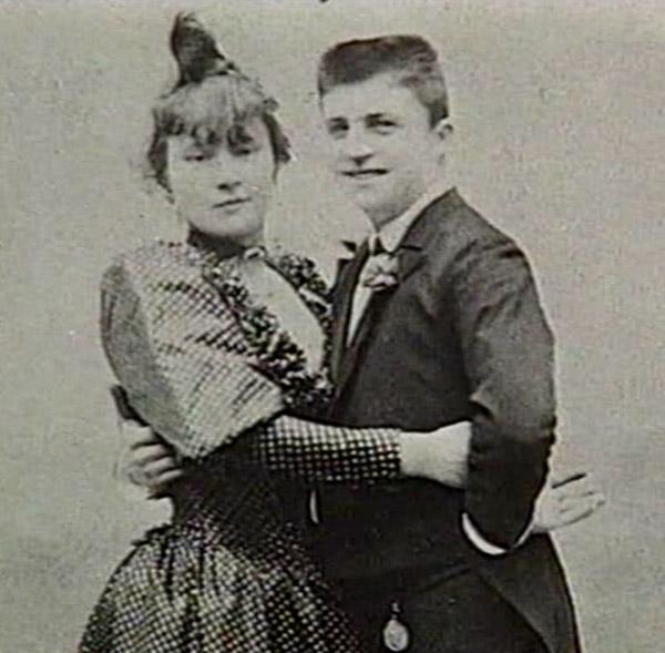 La Goulue et Valentin, 1886