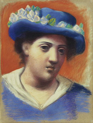 Picasso-Woman With Flowered Hat