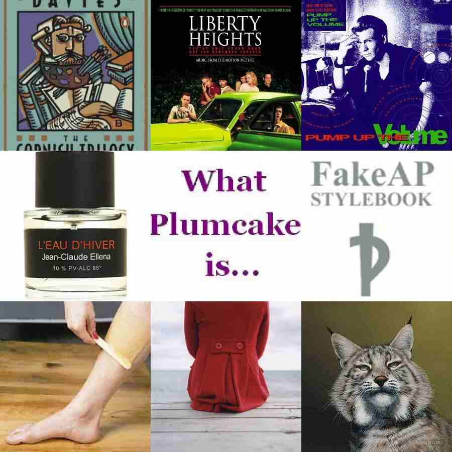 What Miss Plumcake is...for Nov 17th
