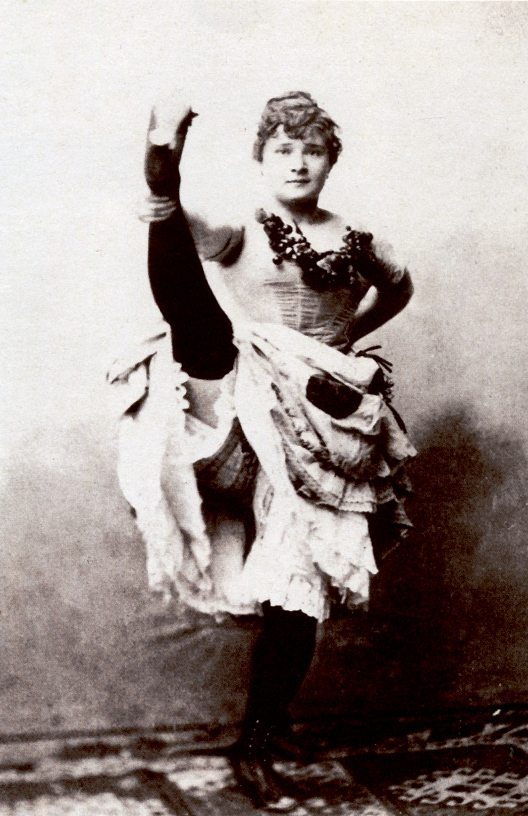 Photo La Goulue, ca. 1895
