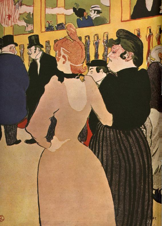 La Goulue et La Môme Fromage, 1892