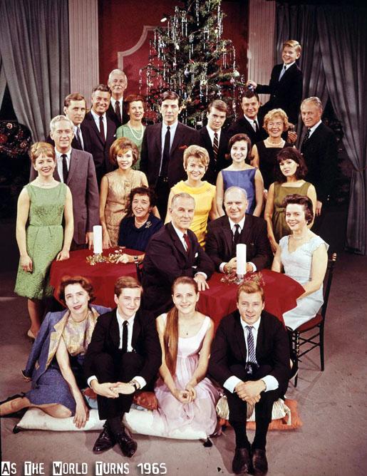 ATWT Cast Photo 1965