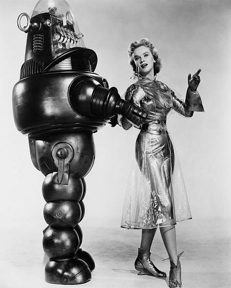 Anne Francis in The Forbidden Planet