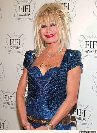 Betsey Johnson at the Fifi awards
