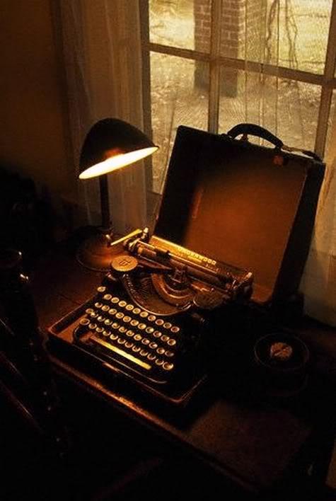 William Faulkner's typewriter