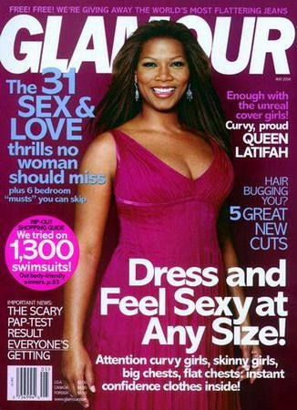 queen latifah glamour