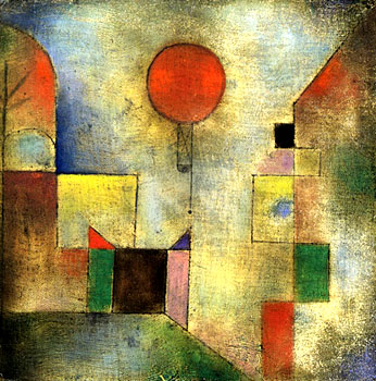 Paul Klee Red Balloon