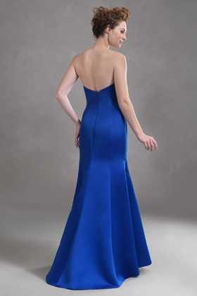 cobalt mermaid dress