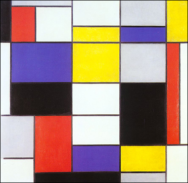 Composition A, Piet Mondrian